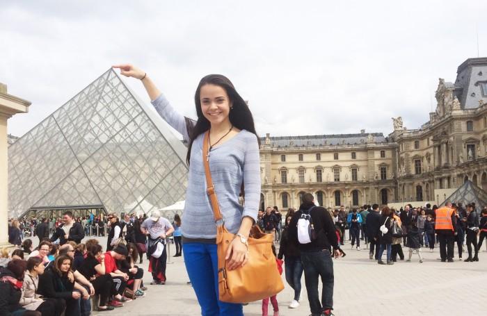 Maria Pena. Paris, France 3