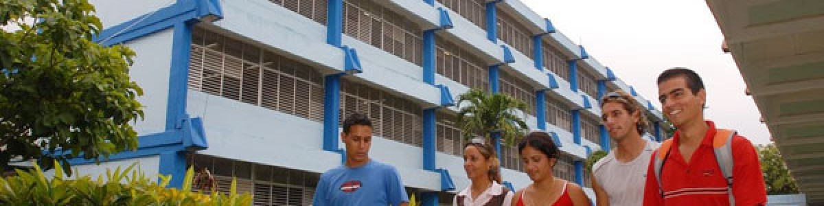 New partnership with Universidad de Cienfuegos.